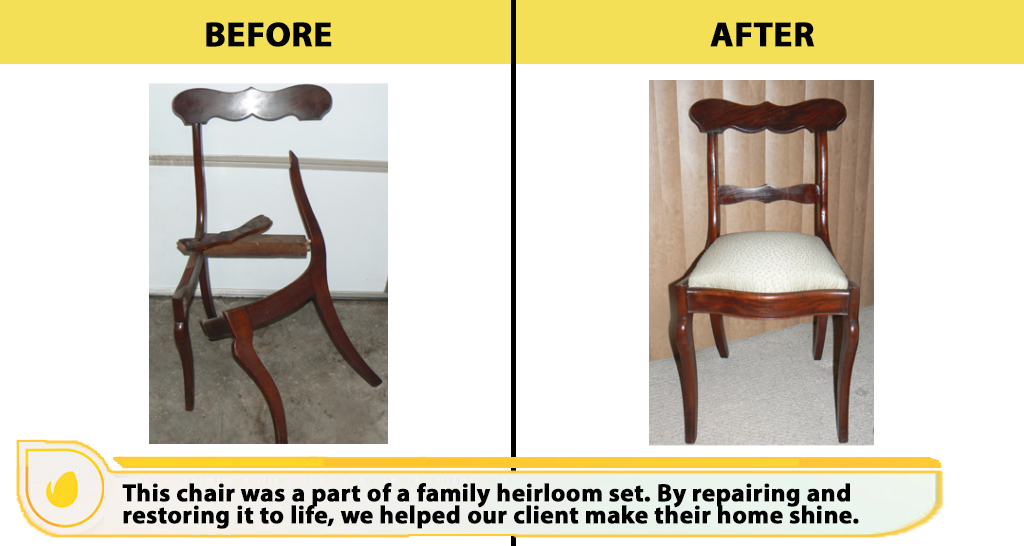 Chair repair